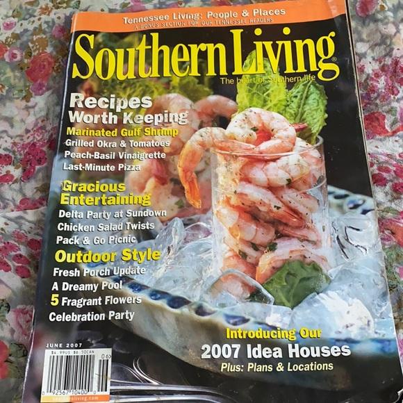 Southern living magazine June 2007